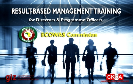 Result Based Management training for Directors and programme officers, ECOWAS Commission.