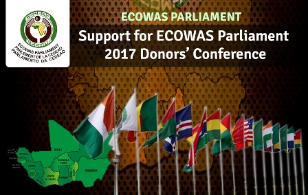 Support for ECOWAS Parliament, 2017 Donors' Conference