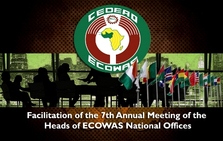 Facilitation of the 7th Annual Meeting of the Heads of ECOWAS National Offices