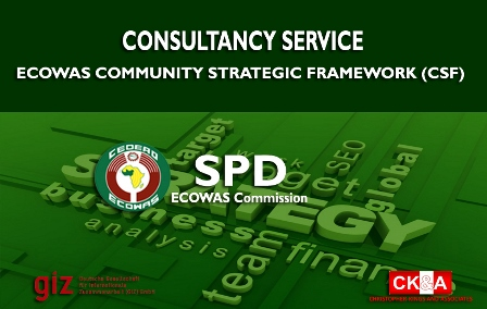 Consultancy services for SPD, ECOWAS Commission on ECOWAS CSF.