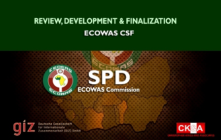 Consultancy services for SPD on the ECOWAS CSF